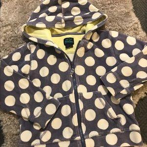 Mini Boden Hooded Sweatshirt 5-6